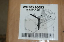 WR30X10093 Genuine GE OEM Icemaker Refrigerator Ice Maker Replaces WR30X10061