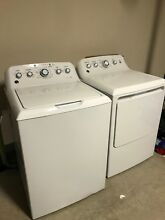GE Washer Dryer set  GTW460ASJWW  GTD42EASJWW
