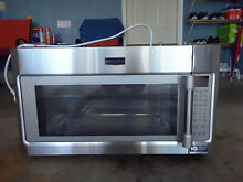 MAYTAG MICROWAVE  30  OVER THE RANGE