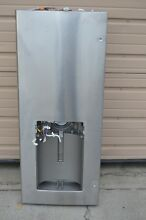 GE WR78X26435 DOOR PS FF LH DISP Stainless Refrigerator Replacement Door New