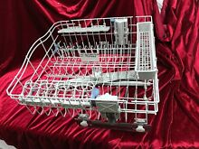 Whirlpool Kenmore Dishwasher Upper Dish Rack WP8539242 With Wheels And Wash Arm