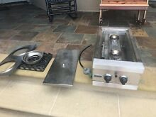 Rarely Used Viking Professional 24  Outdoor Double Burner Propane VGSB152T