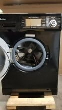 All in One Compact Combo Washer and Electric Dryer in Black