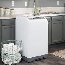 Magic Chef Compact Laundry Washer MCSTCW16W3 White Portable