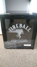 NEW Fireball Whiskey Fridge Glass Door