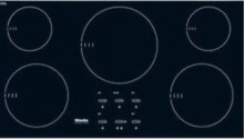 Miele KM5773 36  Induction Cooktop with 5 Cooking Zones Black