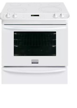 Frigidaire Gallery Series FGES3065PW 30 Inch Slide In Electric Range in White