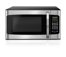 Hamilton Beach Led Stainless Steel 1 1 cu ft 1000W Microwave Oven Kitchen Dorm