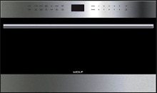 Wolf MDD30TE S TH 30  Microwave Oven Transitional E Series in Stainless Steel