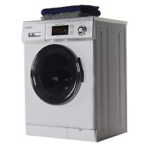 All in One Compact Combo Washer and Electric Dryer in Silver