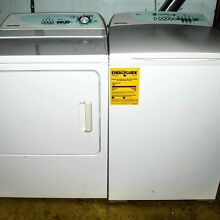 Clothes Washer and Electric Dryer set  Fisher   Paykel  large capacity  white