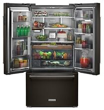 KRFC704FBS 36  KitchenAid 23 8 cu ft  Counter Depth French Door Refrigerator