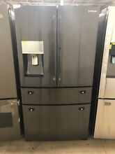 Samsung 22 4 cu Food Showcase 4 Door French Door Refrigerator RF22KREDBSG