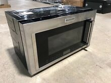 KitchenAid 30 in  W 1 9 cu  ft  Over the Range Convection Microwave KMHC319ESS