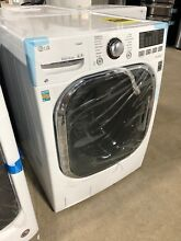 LG 4 3 cu  ft  All in One Washer and Electric Ventless Dryer in White WM3997HWA