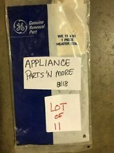 LOT 11 GE DRYER HEATING ELEMENT COIL RESTRING KIT WE11X61 FREE SHIPPING