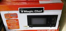Magic Chef Countertop Microwave   1 1 cubic ft   1000 W Black  HMD1110B   HD
