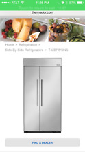 T42BR810NS THERMADOR 42  Refrigerator built in style