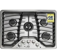 GE Profile 30  Wide Gas 5 Burner Cooktop with Tri ring Burner  PGP959SETSS  NEW