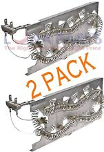 2 Pk  Dryer Heating Element for Whirlpool  Sears  AP2947033  PS344597  3387747