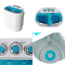 Washer And Dryer All In One Combo Portable Compact Washing Machine Spin Dryer
