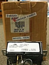 Part  348320 Whirlpool Dryer Timer  New