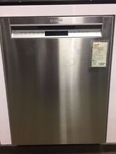 SHE7PT55UC BOSCH BENCHMARK FULL CONSOLE DISHWASHER STAINLESS DISCO DISPLAY