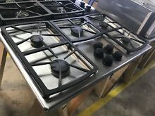 36  Stainless Steel Dacor Gas Cooktop With 5 Cast Iron Burners Model   SGM365S