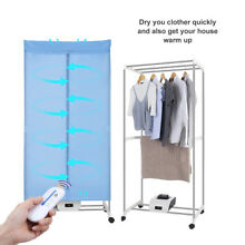 Electric Cloth Dryer Wardrobe Machine Wireless Remote Control Efficient Heater