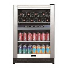 Dual Zone Built In Beverage Center MAGIC CHEF BTWB530ST1