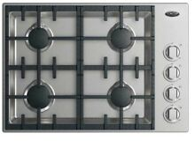 NEW DCS CDV2304HN 30 Inch Gas Cooktop Stainless Steel