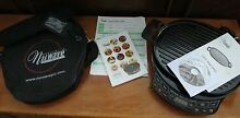 NUWAVE PRECISION INDUCTION COOKTOP Model  30121   CAST IRON BBQ GRILL