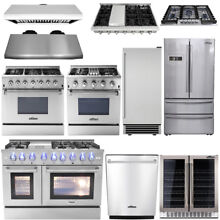 Thor kitchen Cooking Gas Range Stoves  Dishwasher  Range Hood  Wine