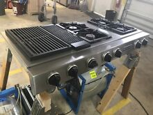 Stainless Steel Jennair Propane Gas Downdraft Cooktop   Grill Model   JGD8348BDP
