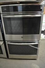 GE Profile 30  Stainless Steel Double Convection Electric Wall Oven PT9551SLSS