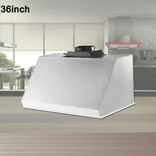 Thor Kitchen 36  Under Cabinet Range Hood Anti fingerprint Vent Fan HRH3605U