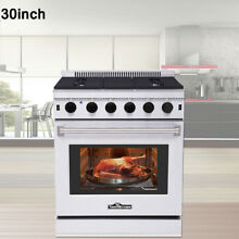 Thor Kitchen LRG3001U 30  Stainless Steel Gas Range Oven with 5 Burners Stove