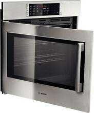 Bosch 30  Stainless Single Electric Wall Oven Model  HBLP451LUC