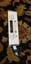 GE OVEN CONTROL DISPLAY PANEL   PART  191D3817P003  02