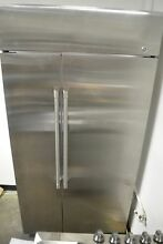 GE Cafe Series 42  Built In Side by Side Stainless Steel Refrigerator CSB42WSKSS