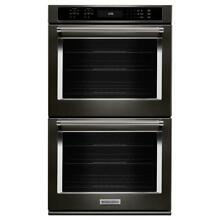 KitchenAid KODE507EBS 27 in  Double Electric Wall Oven in Black Stainless