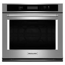 KitchenAid 27  Stainless Steel Electric Single Wall Oven   KOSE507ESS