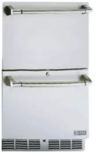 Lynx 24  Outdoor Double Drawer Refrigerator Undercounter   L24DWR