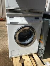 Miele T8033C 24 Inch Electric Dryer and W3048 24 Inch Front Load Washer