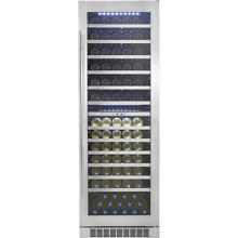 Danby Silhouette Bordeaux 129 Bottle Wine Cooler  DWC140D1BSSPR