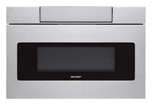 Sharp 24 IN  1 2 CU  FT  950W STAINLESS STEEL MICROWAVE DRAWER OVEN SMD2470ASY