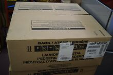 Whirlpool Laundry Pedestal Base WHP1000SB with Drawer
