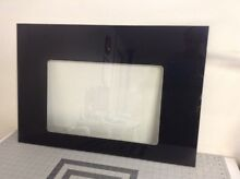 Whirlpool Range Oven Glass  outer door  black   29 1 2 X 20 1 8  W10148485