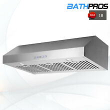 36  Range Hood Kitchen Premium Stainless Steel Under Cabinet Stove Cook Fan