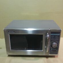 Sharp R 21LCF Medium Duty Commercial Microwave Dial Timer 1000 Watts 120 Volts
